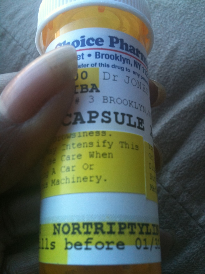 I have finally caved and began medication for my fibromyalgia..